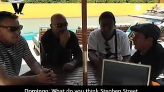 Suggs y Chrissy Boy en entrevista para RadioSKAndalo