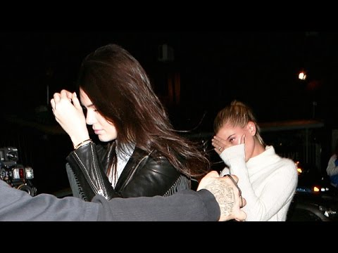 Kendall Jenner And Hailey Baldwin, Plus Kylie And Tyga Party At The Roxy