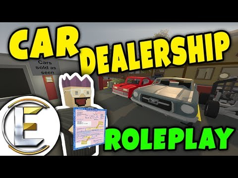 Unturned - Car Dealership | New and old cars for sale but they are sold as seen ( Roleplay )