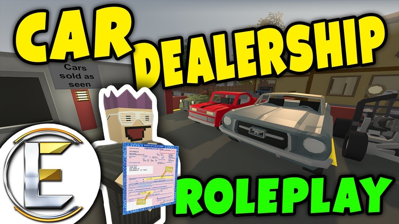 Unturned - Car Dealership | New and old cars for sale but they are ...