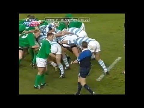 Big Argentina Scrum Wins Crucial Penalty Vs Ireland