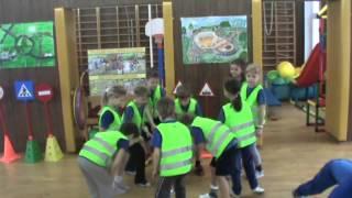 урок физкультуры по теме дорожного движения в 1 классе