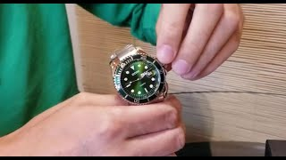 стильные мужские часы бренда DOM