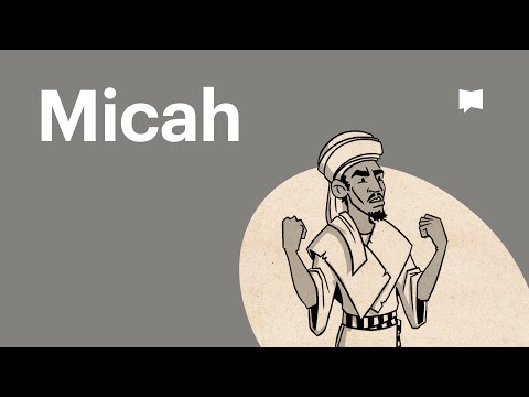 Read Scripture: Micah