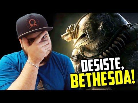 O DESESPERO DA BETHESDA COM FALLOUT 76 PASSOU DOS LIMITES! thumbnail