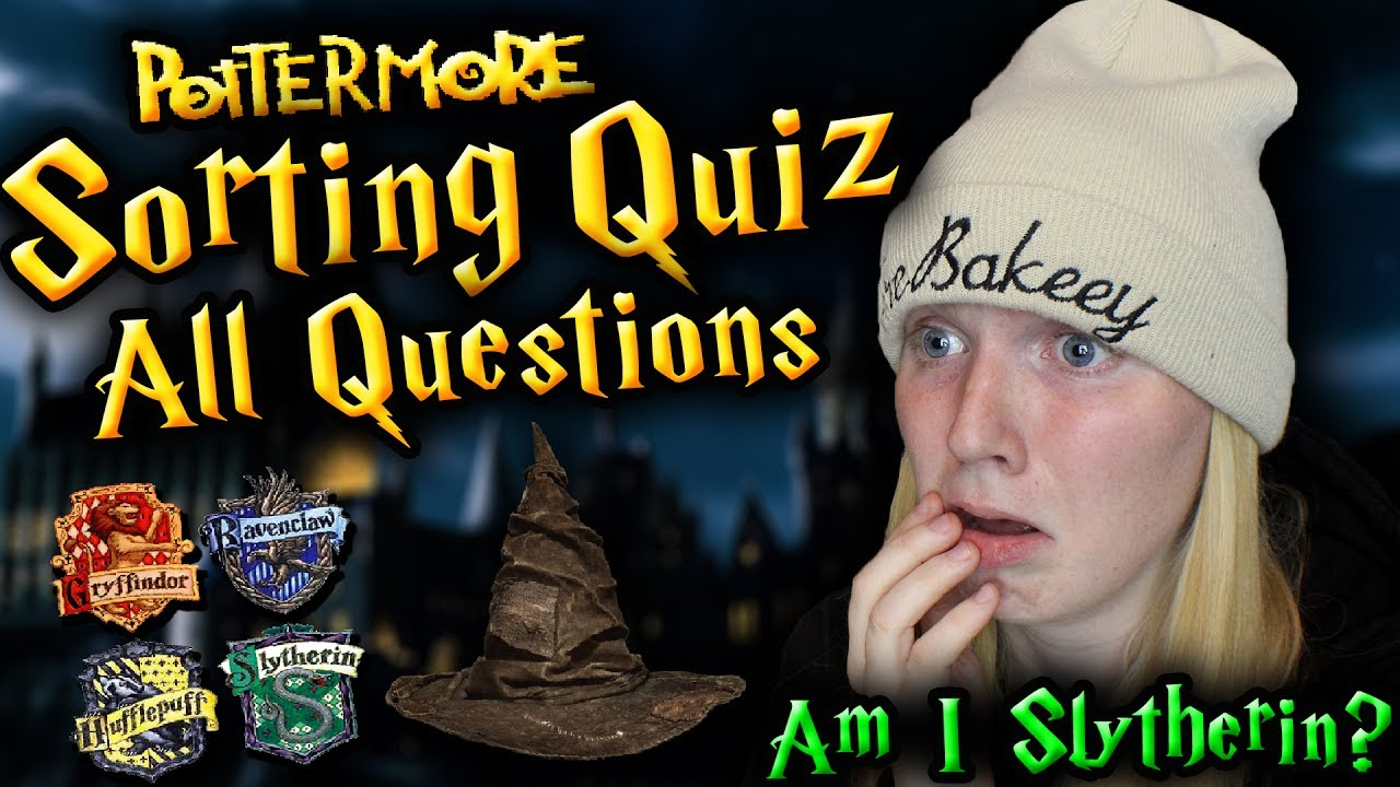FULL POTTERMORE SORTING QUIZ (All Questions)
