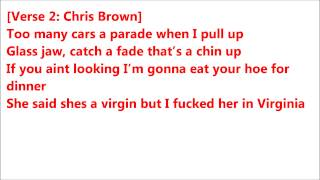 Let The Blunt Go -  Chris Brown Lyrics HD