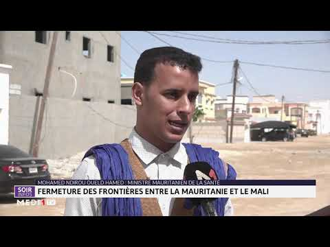 Coronavirus: fermeture des frontières entre la Mauritanie et le Mali