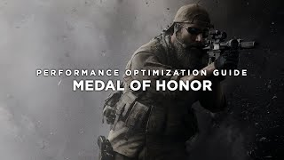 Medal of Honor - How to Reduce Lag and Boost & Improve Performance