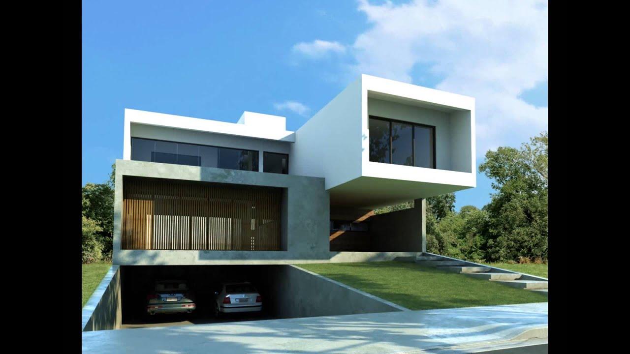 Casa minimalista animacion vray arq claudio cama o youtube for Casa minimalista guayaquil