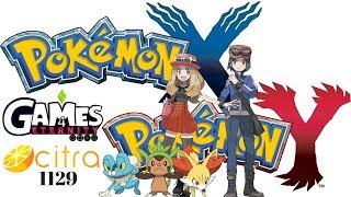 Citra 1129 Pokemon X & Y 60fps 4K | Prueba y Gameplay | Explicacion