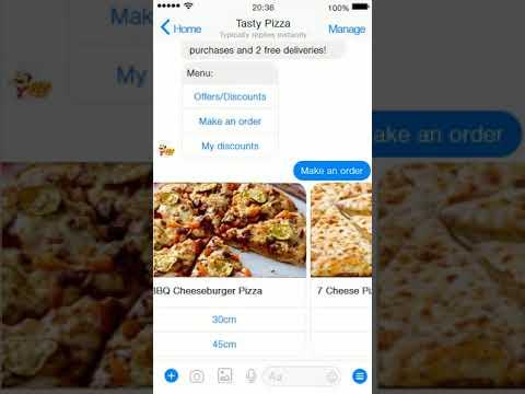 BalticBot pizza chatbot