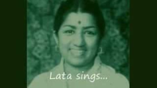 Ghalib Ghazal - Lata sings baazeechaa-e-atfaal hai duniya mere aage