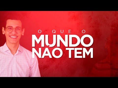 O QUE O MUNDO NÃO TEM - Pedro Dias