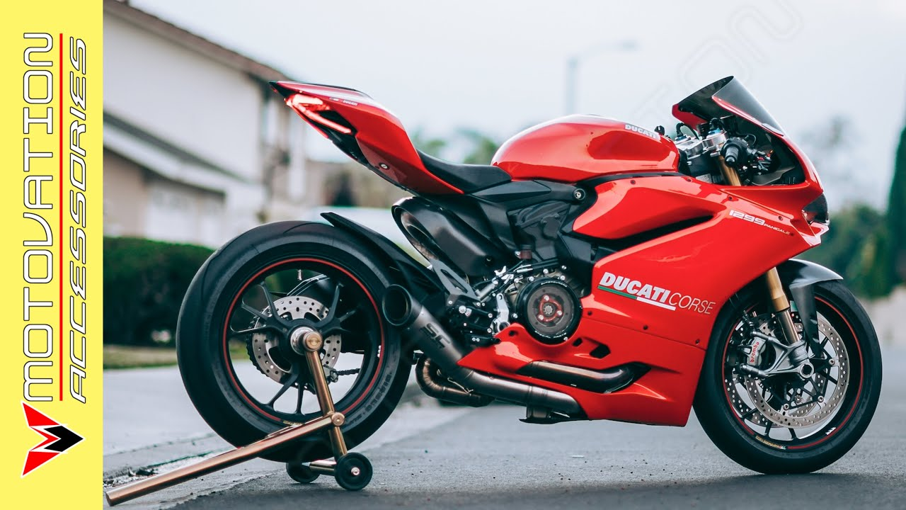 Ducati Panigale S1 MotoGP derived Exhaust by SC Project - SOUND CLIP! - YouTube