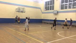 Баскетбольная тренировка в зале на Соколе
