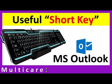 Useful Shortcut Key For Outlook 2016