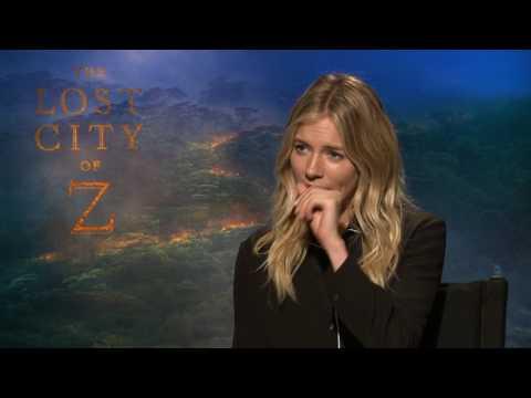 Sienna Miller Raw Interview Lost City of Z