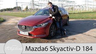 2018 Mazda6 Kombi Skyactiv-D 184 Sports-Line Fahrbericht / Der Preis-Leistungs-Kracher - Autophorie