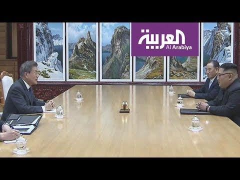 لقاء بين زعيمي الكوريتين حول القمة مع الولايات المتحدة  - نشر قبل 5 ساعة