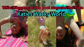 Gambar cover Watch What Katie can do.. What happens at the pool stays in YouTube
