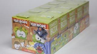 видео Свит Бокс игрушки Ам Ням игра перережь веревку Новинка Sweet Box toys Om Nom game cut the rope New
