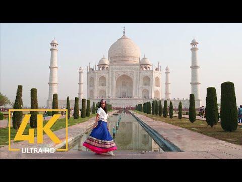 Taj Mahal, Agra, India In 4K UHD - Travel Journal - Top Asia Places
