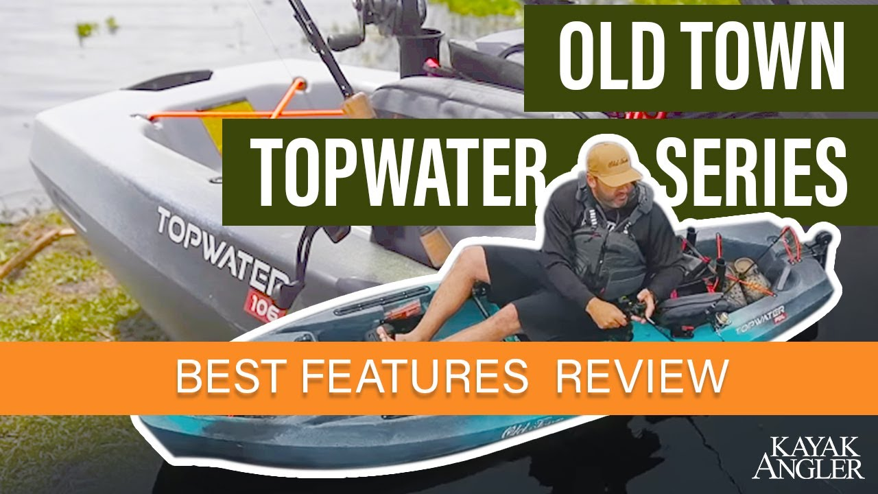 Old Town Canoe & Kayak Topwater 120 PDL Pedal Kayak Review