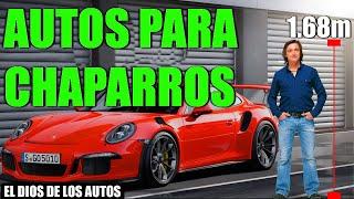 5 AUTOS PARA CHAPARROS