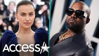 Kanye West & Irina Shayk Vacation Together In France
