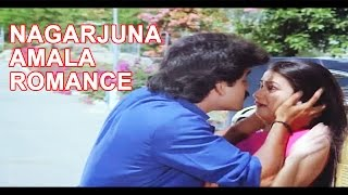 Nagarjuna, Amala Best love Scene ll Chinnababu Movie