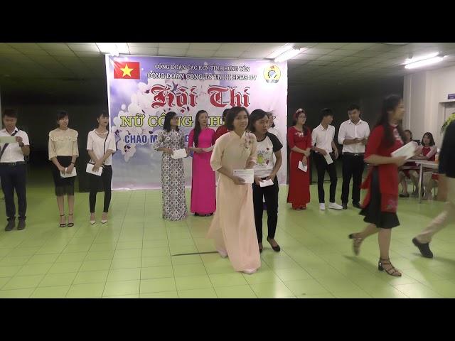 Công ty TNHH SEWS - CV Việt Nam tổ chức thi cắm hoa 20 10