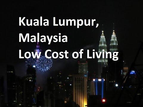 Kuala Lumpur Malaysia Low Cost of Living Retire Early