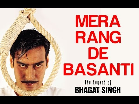 Mere Rang De Basanti Chola - Video Song | The Legend Of Bhagat Singh | Ajay Devgn | AR Rahman
