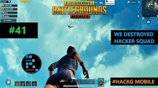 HACKG MOBILE THIS GAME IS FULL OF HACKERWE DESTROYED CHEATER SQUAD