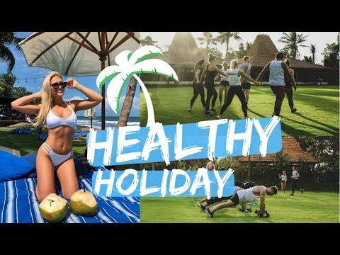 Full body weights workout + making new friends II Bali vlog #2