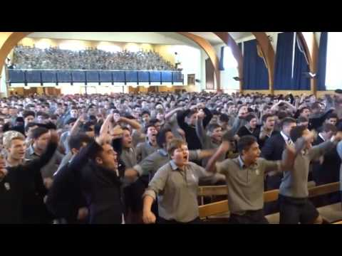 New Zealand students giving intense Haka farewell to their retiring teacher