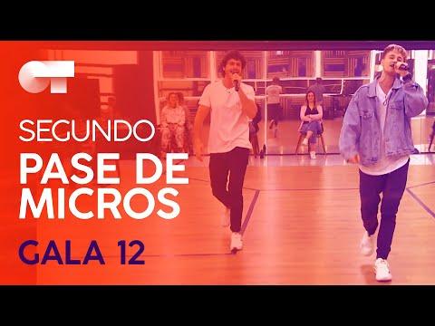 """ME VALE"" - HUGO Y MIKI NUÑEZ | SEGUNDO PASE DE MICROS GALA 12 | OT 2020"