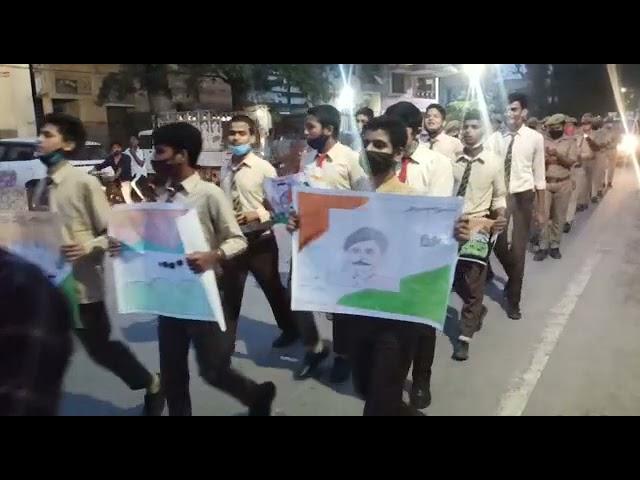 बलरामपुर में आजादी का अमृत महोत्सव कार्यक्रम के अन्तर्गत अपर पुलिस अधीक्षक श्री अरविन्द मिश्र