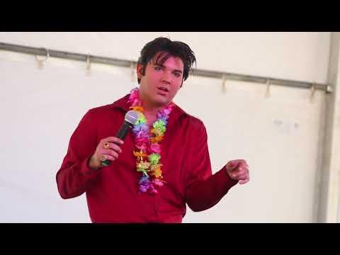 Cody Slaughter Sings 'Pocketful Of Rainbows' Elvis Week 2018