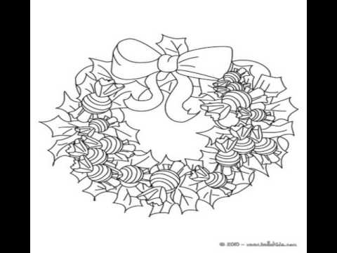 christmas coloring pages to print out - YouTube