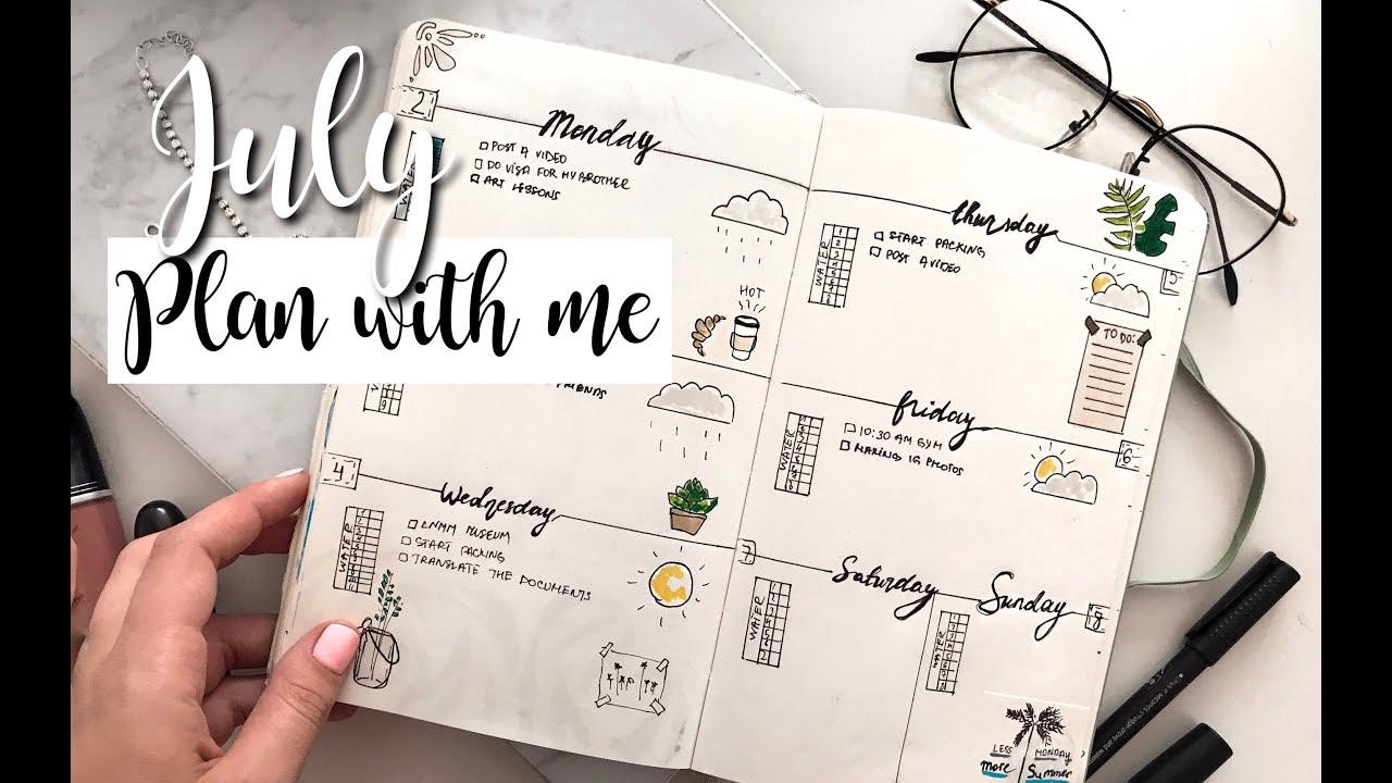 как я планирую месяц