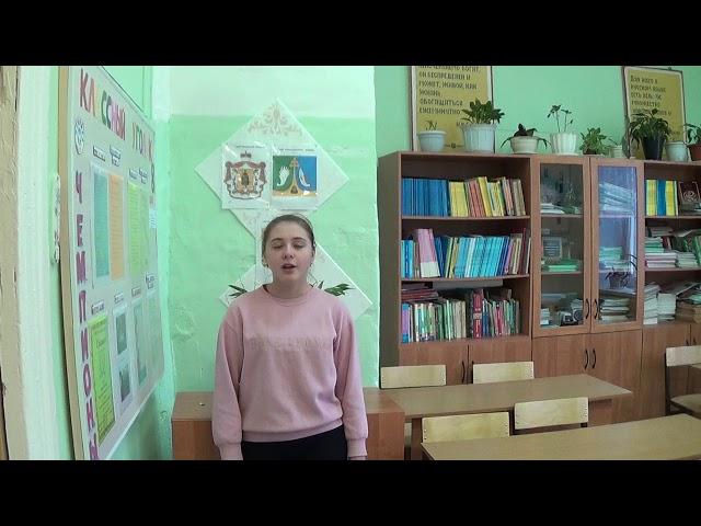 Изображение предпросмотра прочтения – ЕваЗеленцова читает произведение «Идешь, на меня похожий.» М.И.Цветаевой