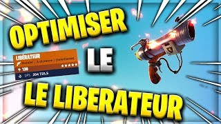 OPTIMISER THE LIBERATER - BIG DEGATS - FORTNITE SAUVER THE WORLD
