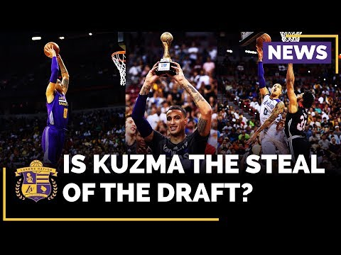 Magic Johnson On Kyle Kuzma: 'The Steal Of The Draft'