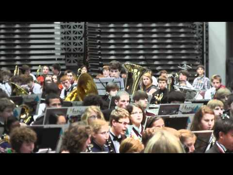 """Alabama All State Band 2012 Red Band plays """"An American in Paris"""""""