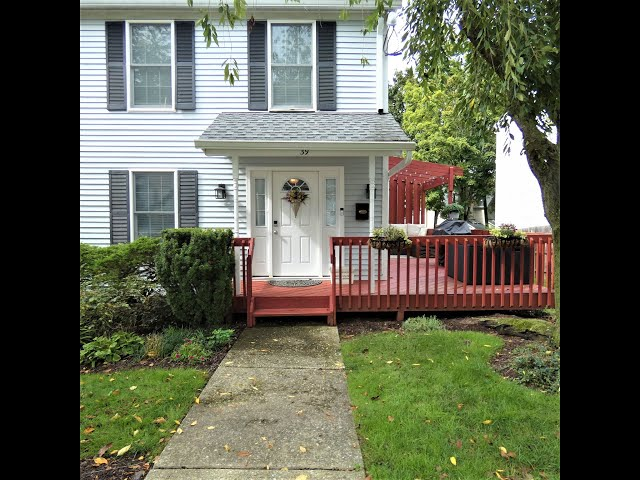 Morristown NJ Home for Sale - End Unit In Town - Quiet One Way Street with Off Street Parking (2020)