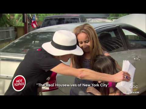 Two 'Real Housewives of NY' Feud Over Charity Work In Puerto Rico | The View