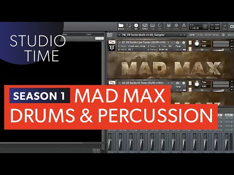 Episode 4: Mad Max Drums - Studio Time with Junkie XL
