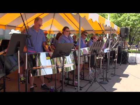 Rocky Mountain Steel Bands - Live Performance at the 2015 Pan People Music Festival